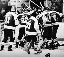 Miracle on Manchester 1982 Stanley Cup Finals
